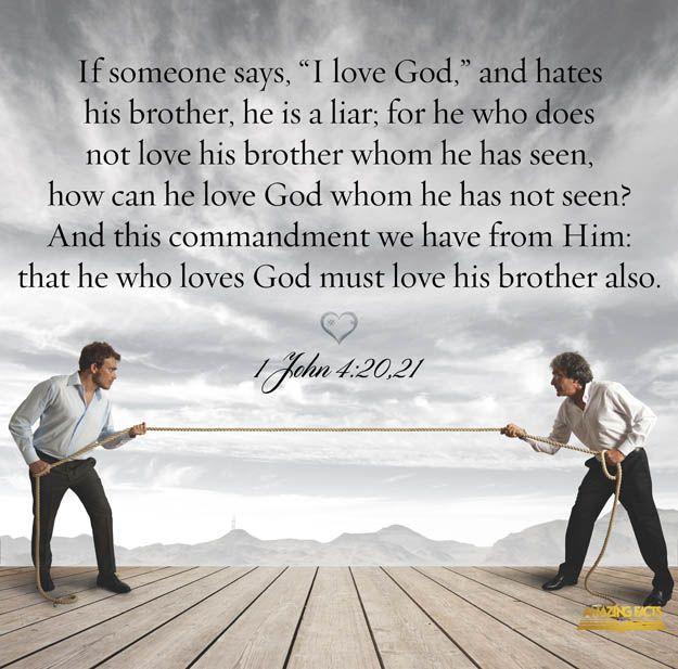 God Says Love: LOVE EACH OTHER AS WE LOVE GOD